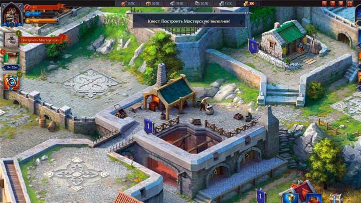 Throne: Kingdom at War, онлайн стратегия