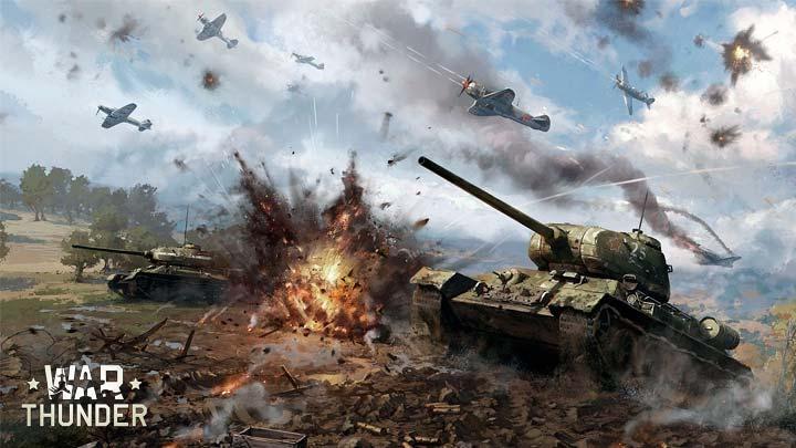 War Thunder, военный шутер, симулятор