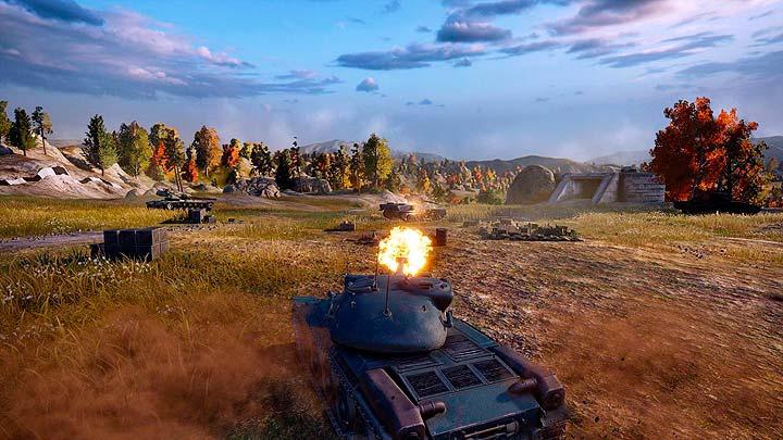 Клиентская онлайн игра, World of Tanks