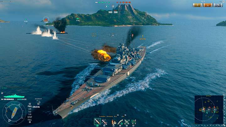 World of Warships, корабли World of Warships